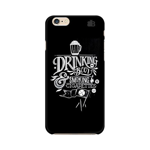 Drinking Beer Apple iPhone 6 Phone Cover