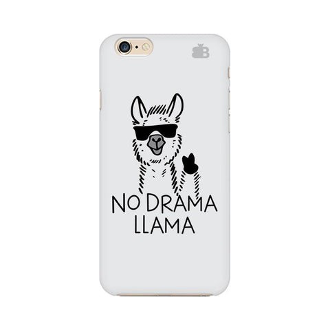 No Drama LLama Apple iPhone 6 Phone Cover