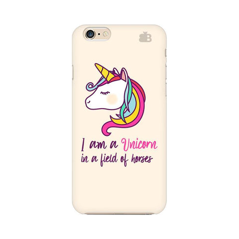 Unicorn in Horses Apple iPhone 6 Phone Cover