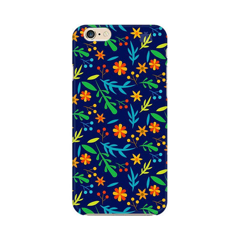 Vibrant Floral Pattern Apple iPhone 6 Phone Cover