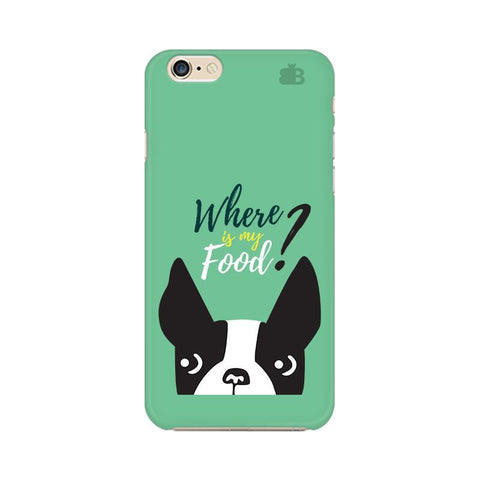 Where is my Food Apple iPhone 6 Phone Cover