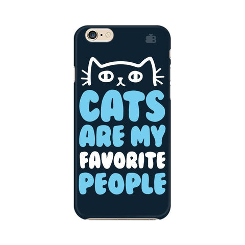 Cats favorite People Apple iPhone 6 Plus Phone Cover