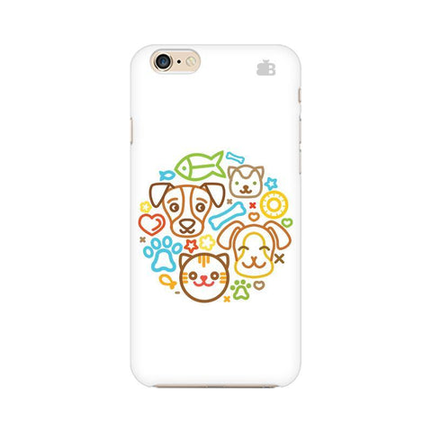 Cute Pets Apple iPhone 6 Plus Phone Cover