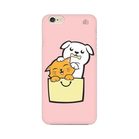 Kitty Puppy Buddies Apple iPhone 6 Plus Phone Cover