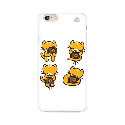 Photographer Kitty Apple iPhone 6 Plus Phone Cover