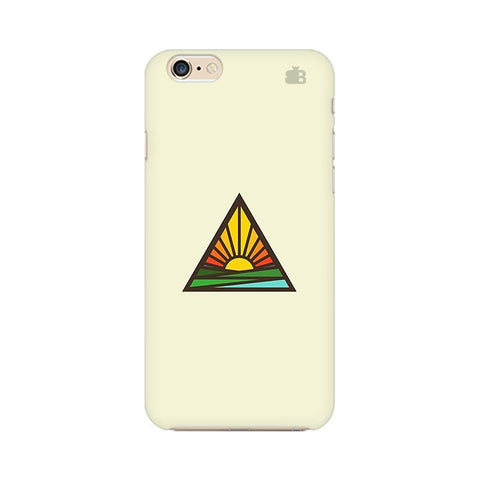 Triangular Sun Apple iPhone 6 Plus Phone Cover
