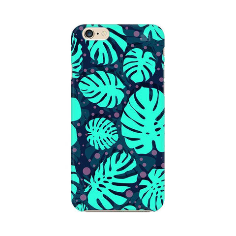 Tropical Leaves Pattern Apple iPhone 6 Plus Phone Cover