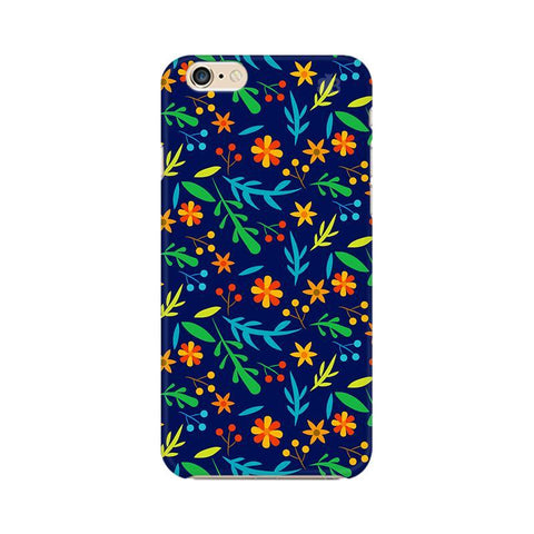 Vibrant Floral Pattern Apple iPhone 6 Plus Phone Cover