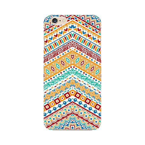 Wavy Ethnic Art Apple iPhone 6 Plus Phone Cover