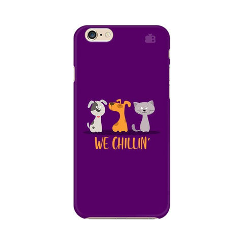 We Chillin Apple iPhone 6 Plus Phone Cover