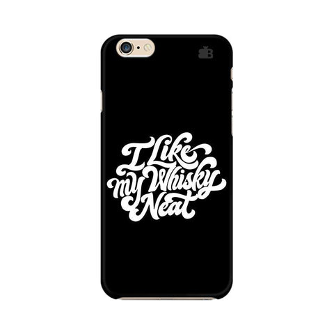 Whiskey Neat Apple iPhone 6 Plus Phone Cover
