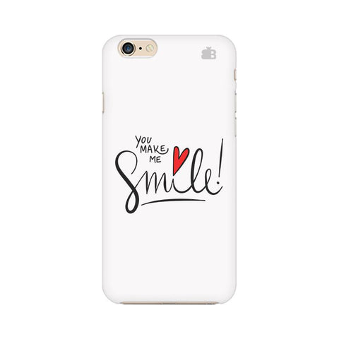 You make me Smile Apple iPhone 6 Plus Phone Cover