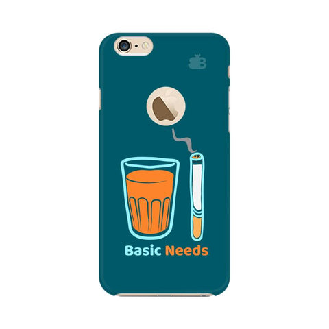 Chai Sutta Basic Apple iPhone 6 with Apple Round Cover