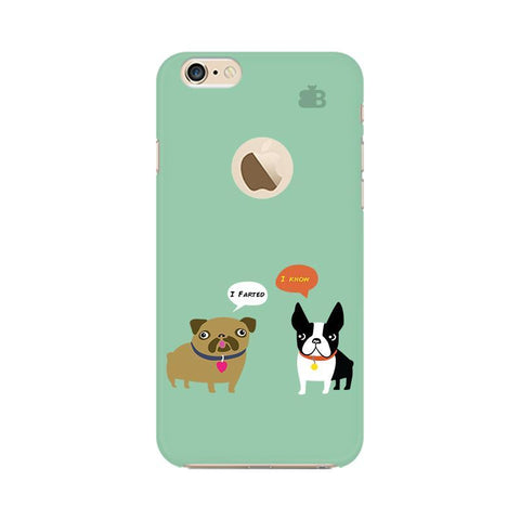 Cute Dog Buddies Apple iPhone 6 with Apple Round  Phone Cover