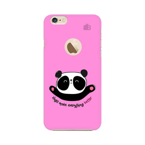 Hugs Better Apple iPhone 6 with Apple Round  Phone Cover