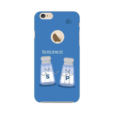 Spice My Life Apple iPhone 6 with Apple Round  Phone Cover