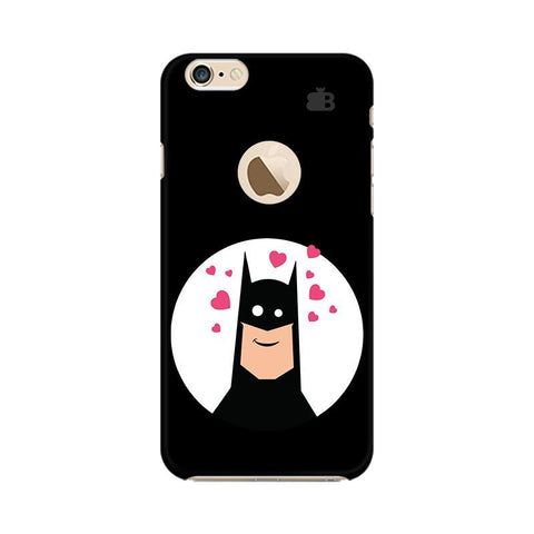 Superhero in Love Apple iPhone 6 with Apple Round  Phone Cover