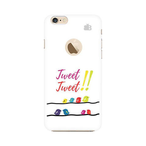 Tweet Tweet Apple iPhone 6 with Apple Round  Phone Cover