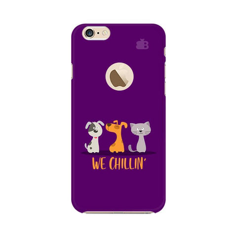 We Chillin Apple iPhone 6 with Apple Round  Phone Cover