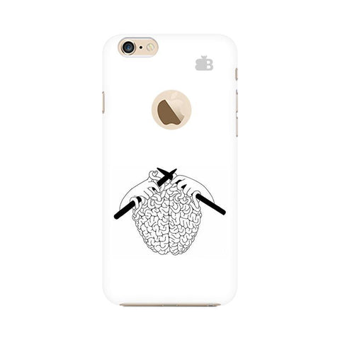 Weaving Brain Apple iPhone 6 with Apple Round  Phone Cover