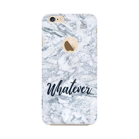 Whatever Apple iPhone 6 with Apple Round  Phone Cover