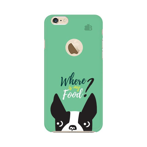 Where is my Food Apple iPhone 6 with Apple Round  Phone Cover