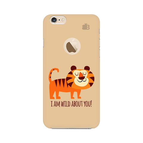 Wild About You Apple iPhone 6 with Apple Round  Phone Cover