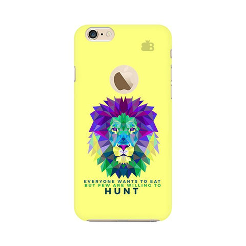 Willing to Hunt Apple iPhone 6 with Apple Round  Phone Cover