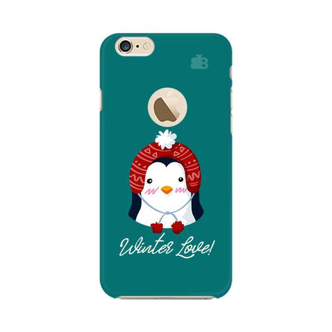 Winter Love Apple iPhone 6 with Apple Round  Phone Cover