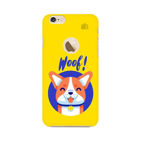 Woof Apple iPhone 6 with Apple Round  Phone Cover