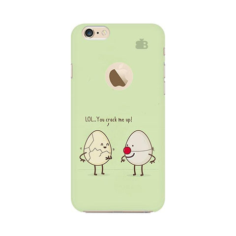 You Crack me up Apple iPhone 6 with Apple Round  Phone Cover