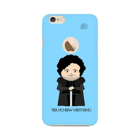 You Know Nothing Apple iPhone 6 with Apple Round  Phone Cover