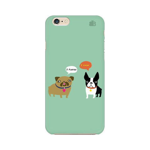 Cute Dog Buddies Apple iPhone 6s Phone Cover