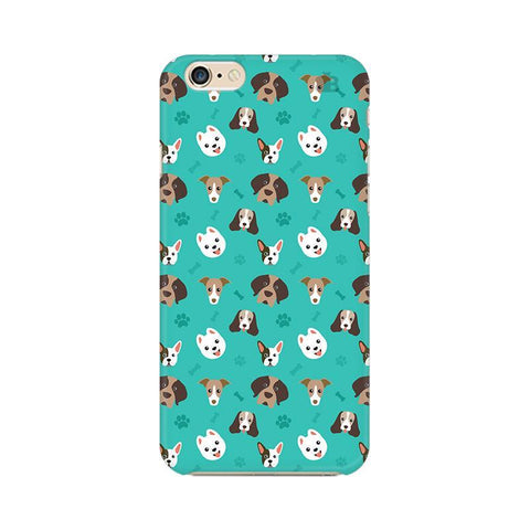 Doggie Pattern Apple iPhone 6s Phone Cover
