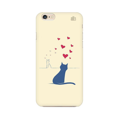 Kitty in Love Apple iPhone 6s Phone Cover