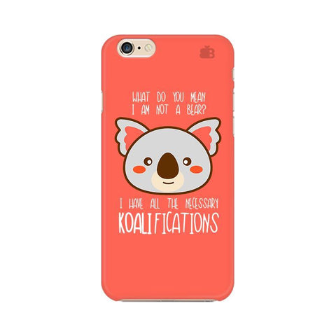 Koalifications Apple iPhone 6s Phone Cover