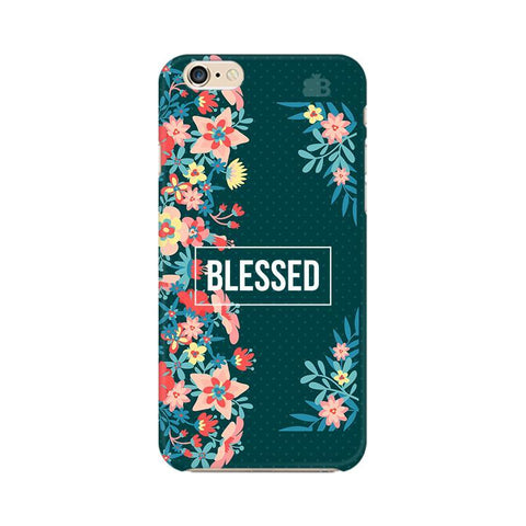 Blessed Floral Apple iPhone 6s Plus Phone Cover