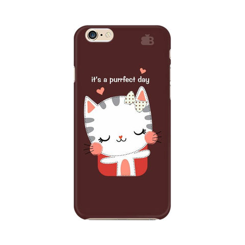 Purrfect Day Apple iPhone 6s Plus Phone Cover