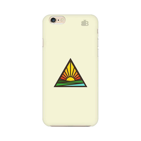 Triangular Sun Apple iPhone 6s Plus Phone Cover