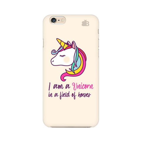 Unicorn in Horses Apple iPhone 6s Plus Phone Cover