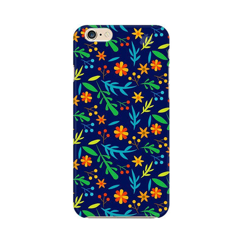 Vibrant Floral Pattern Apple iPhone 6s Plus Phone Cover