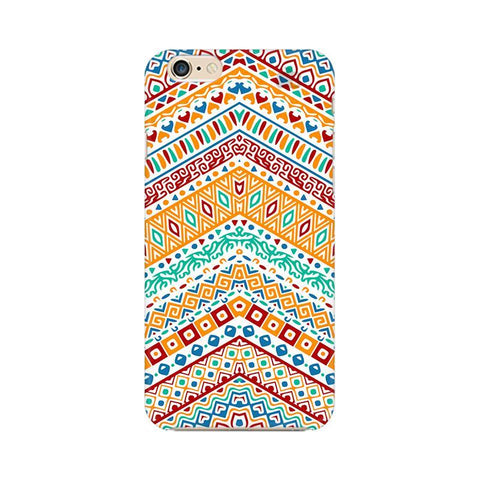 Wavy Ethnic Art Apple iPhone 6s Plus Phone Cover