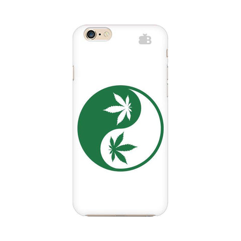 Weed Yin Yang Apple iPhone 6s Plus Phone Cover