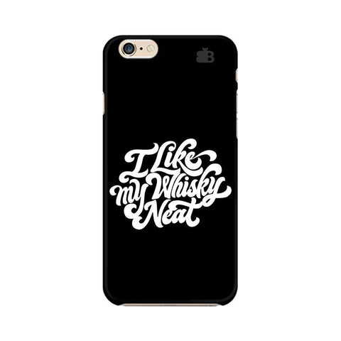 Whiskey Neat Apple iPhone 6s Plus Phone Cover