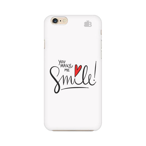 You make me Smile Apple iPhone 6s Plus Phone Cover