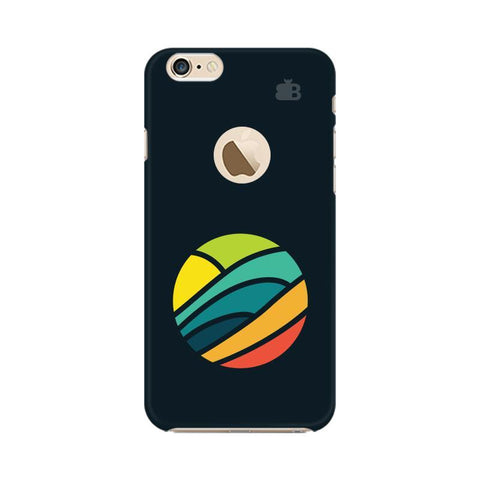 Abstract Circle Apple iPhone 6s with Apple Round  Phone Cover
