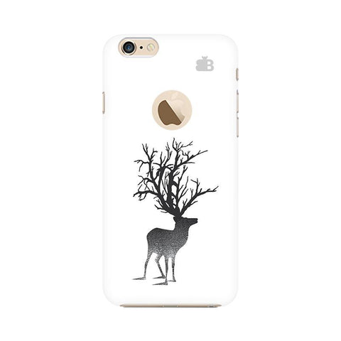 Abstract Deer Apple iPhone 6s with Apple Round  Phone Cover