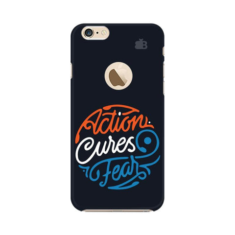 Action Cures Fear Apple iPhone 6s with Apple Round  Phone Cover