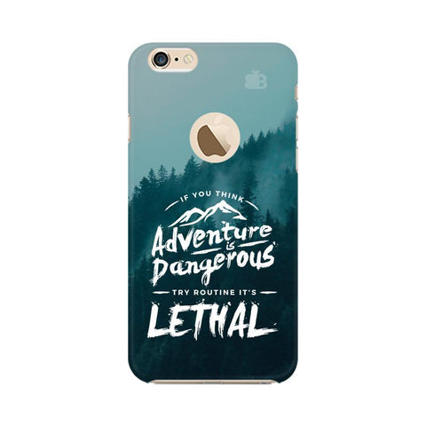 Adventure Apple iPhone 6s with Apple Round  Phone Cover