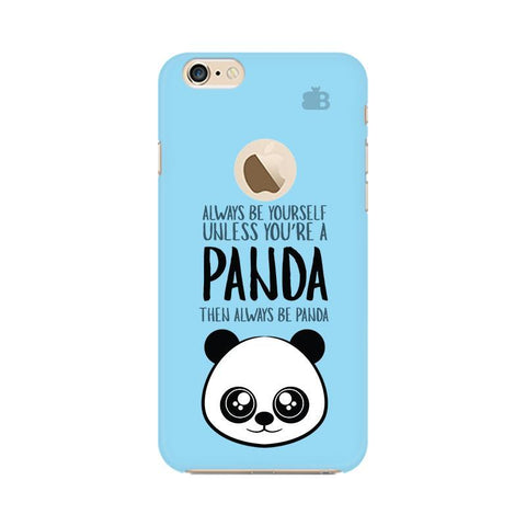 Always be panda Apple iPhone 6s with Apple Round  Phone Cover